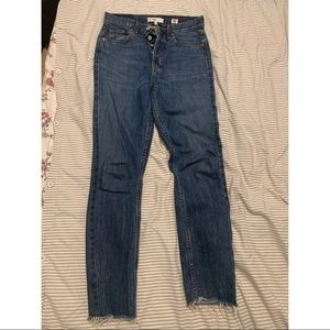 Redone skinny jeans